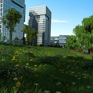 3d<font class='myIsRed'>城市規劃</font>景觀模型