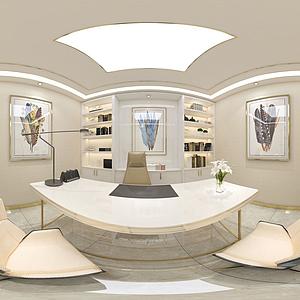 美容咨詢室診療室模型