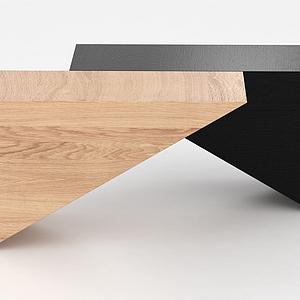 木凳子模型