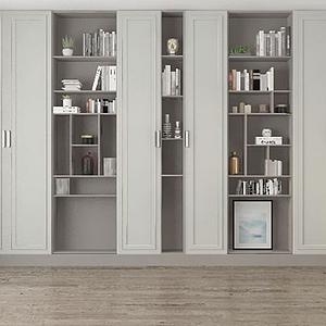 3d書柜模型