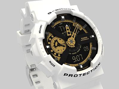卡西歐手表模型3d模型