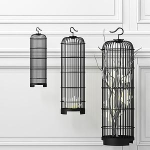 鳥籠組合模型