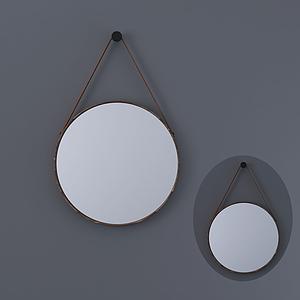 現代墻飾掛件掛鏡模型