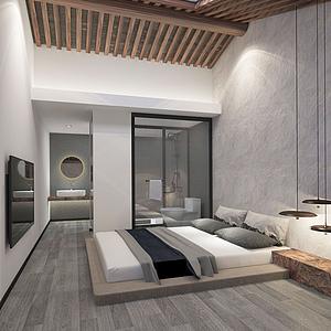 民宿酒店模型
