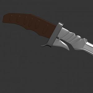 道具刀模型