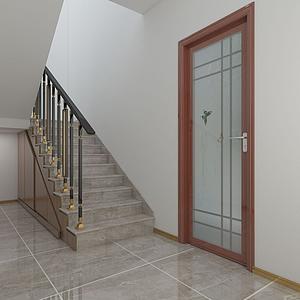 3d樓梯間模型