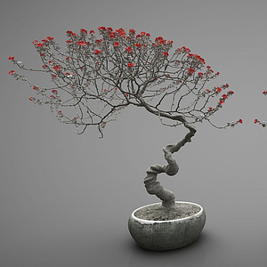 3d植物<font class='myIsRed'>盆栽</font>組合模型