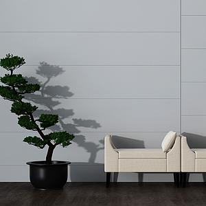 簡約凳模型