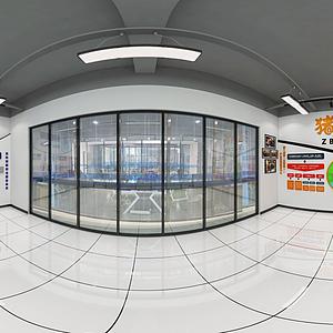 豬八戒裝飾空間模型