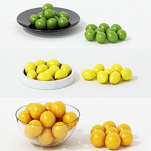 水果組合模型