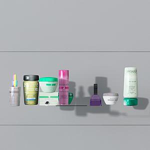 化妝品護膚品模型