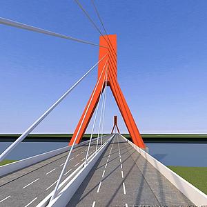 蟠龍大橋模型