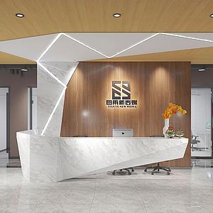 3d<font class='myIsRed'>办公楼</font>公司前台模型