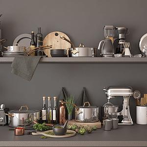 廚房用品模型