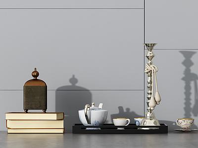 簡約擺件陳設裝飾品模型3d模型