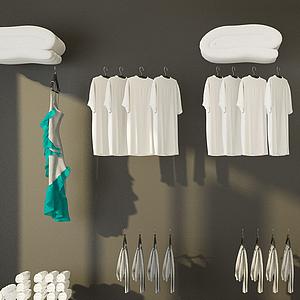 洗浴用品模型