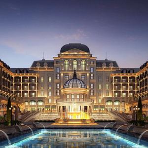 法式酒店会所模型