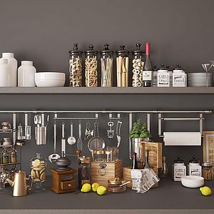 3d廚房用品模型