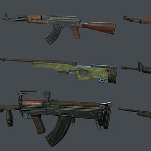 現代步槍組合模型