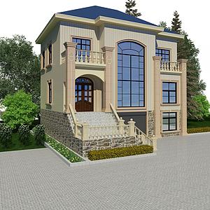 3d建筑外觀模型