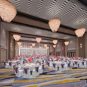 餐饮空间模型