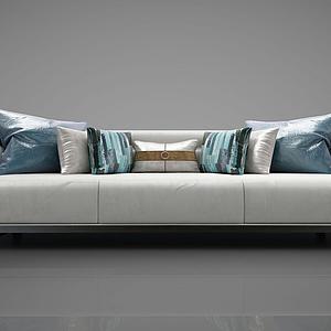 新中式风格沙发模型