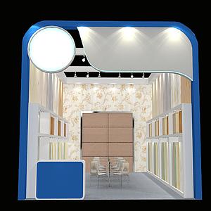 建材展廳模型