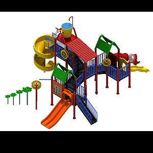 兒童游樂設施模型