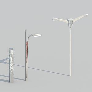 壯族路燈模型