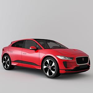 3d捷豹越野車SUV模型