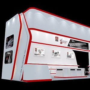 電子產品展廳展覽模型
