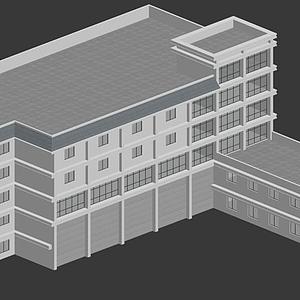 3d消防模型