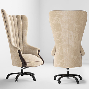 歐式轉椅模型