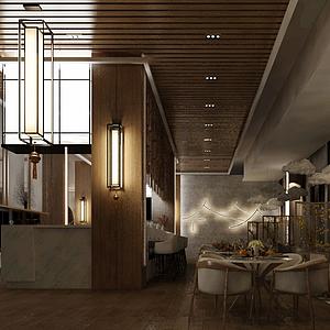 餐飲空間模型