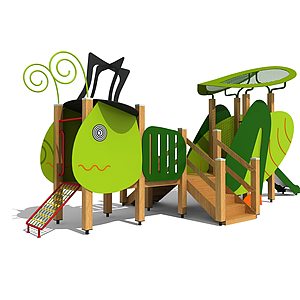 3d兒童<font class='myIsRed'>滑梯</font>,戶外<font class='myIsRed'>滑梯</font>模型