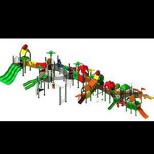 大型滑梯模型
