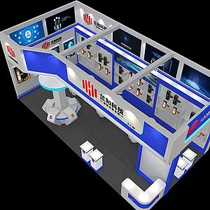 科技展覽展廳模型
