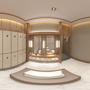 洗浴中心模型