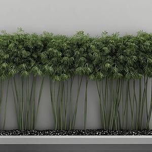 園林景觀綠植模型
