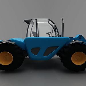 3d現代運輸車模型