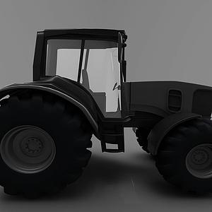 3d現代<font class='myIsRed'>工程車</font>模型
