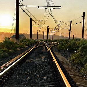 舊鐵路模型