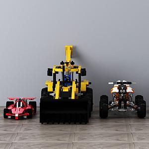 3d汽<font class='myIsRed'>車</font>組合模型