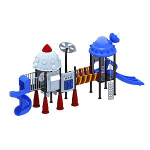 機器人滑梯模型