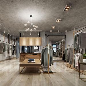 服裝店模型