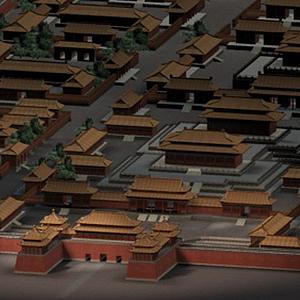 3d故宮古建筑模型