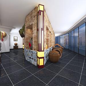 一樓展館模型