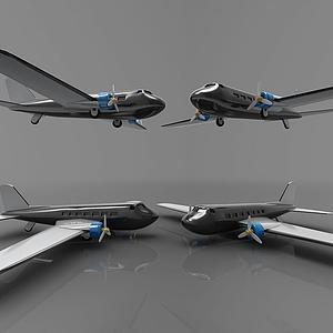 現代飛機模型