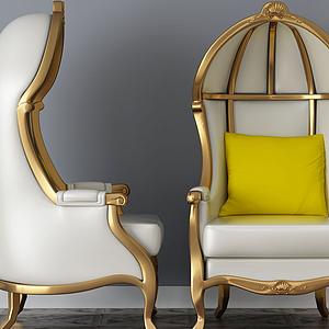 3d休闲椅模型