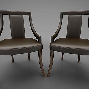 休閑椅模型
